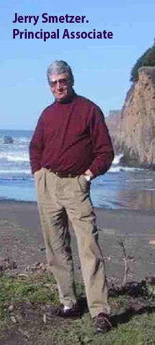 Jerry on the shore line near Mendocino in 2004